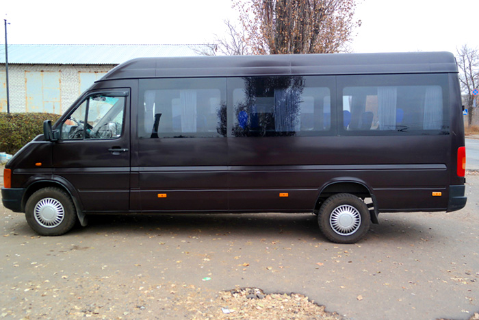 Аренда микроавтобуса volkswagen