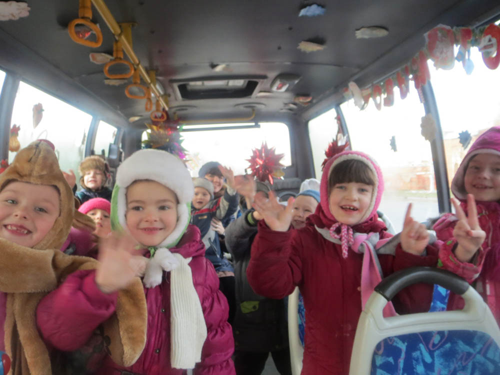 заказ автобуса для перевозки детей