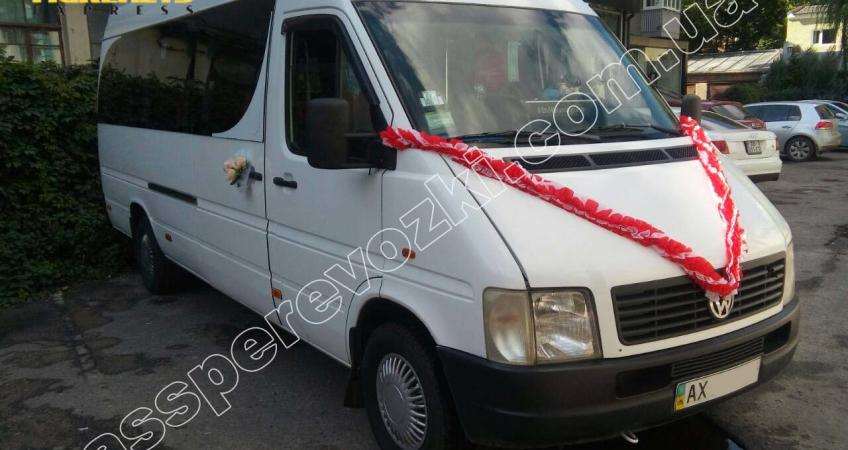 фото свадебного микроавтобуса