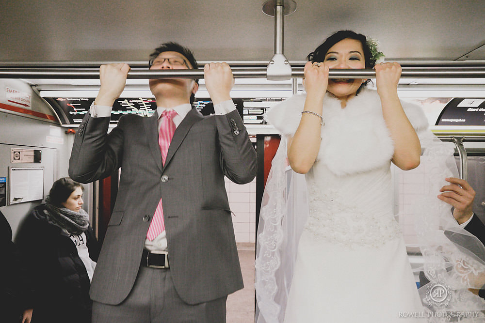 fun-bride-and-groom-portraits-on-toronto-subway