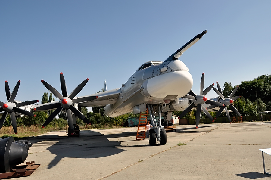 Ту-95МС в Полтаве